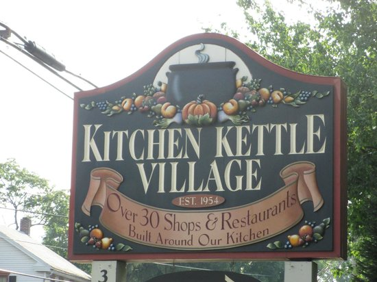 Kitchen Kettle Village: A Small Town in Itself