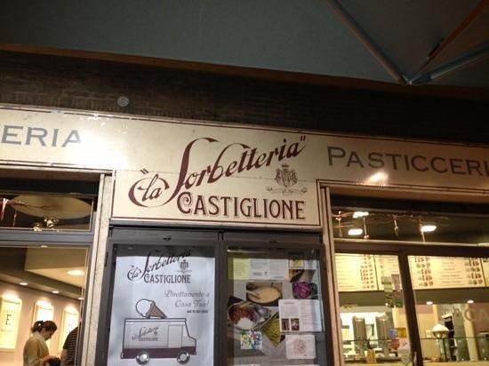 La Sorbetteria Castiglione : entree