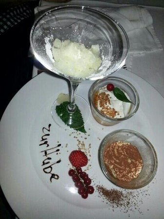 Zur Hube: nice dessert