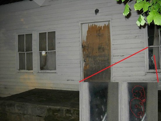 Hillbilly Haunts: Another ghost face