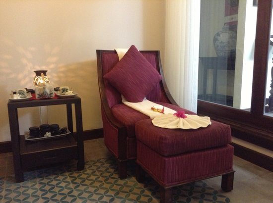 Little Hoian Boutique Hotel U0026 Spa: Foot Massage Chair