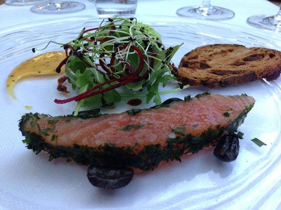 Restaurant Essort : Wild Scottish Gravad Lachs