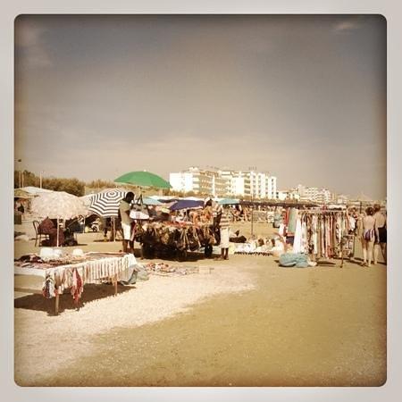 Grand Hotel Excelsior: Spiaggia