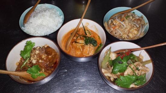 Restaurante Tai: Menu degustacion principal