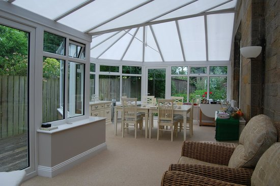 The Old Manse Chatton: Dining Conservatory