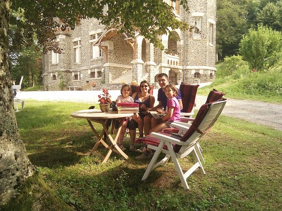 Noailhac, France: With the family