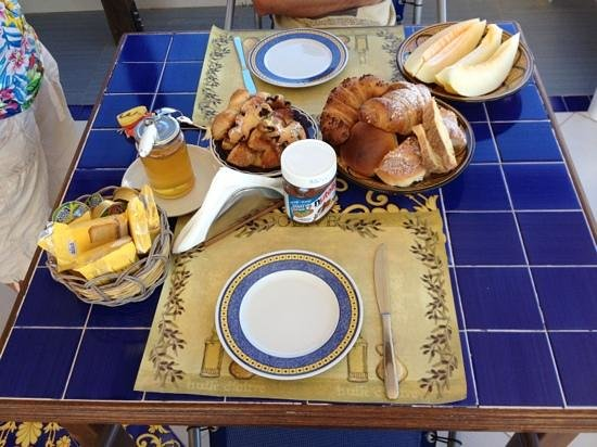 Al frantoio Valderice: colazione
