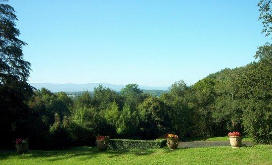 Chateau de Roqueperlic : The View