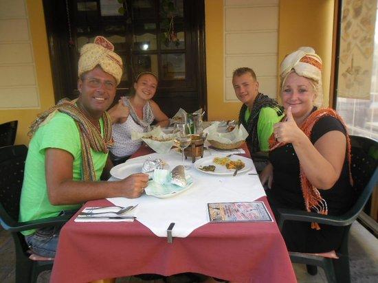 Haweli Indian Tandoori Restaurant: de food