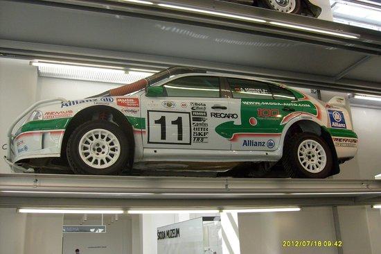 Modern racerbil