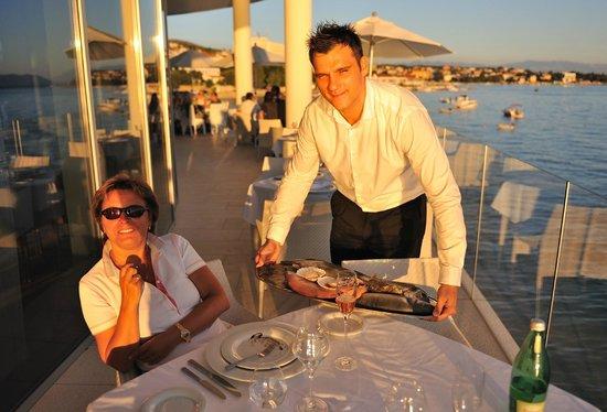 Hotel Amabilis: Fischauswahl (Frisch und alles was das Herz begehrt)