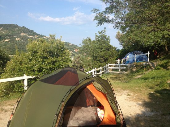 Finale Ligure, Italy: Camping area