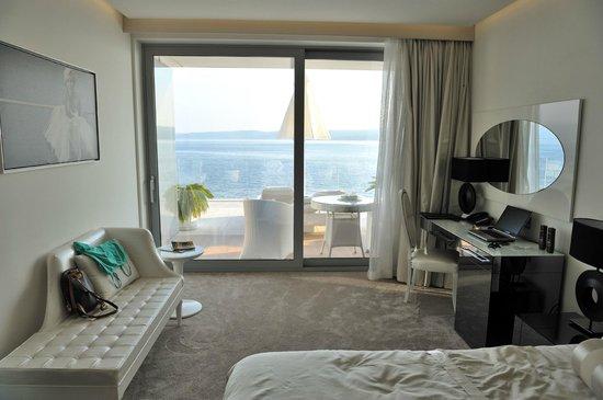 Hotel Amabilis: Zimmer # 109 mit eigener Terrasse