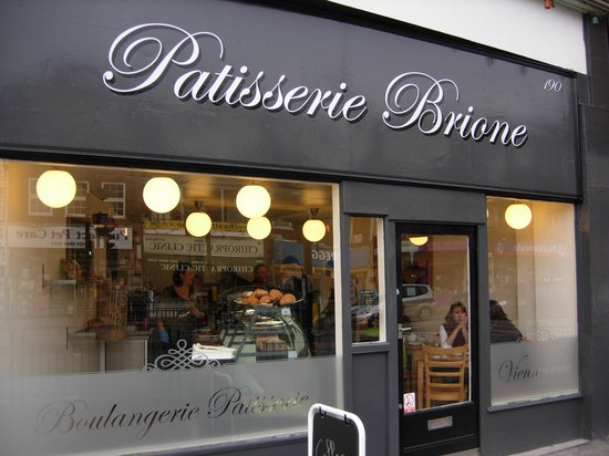 Patisserie Brione Birthday Cake