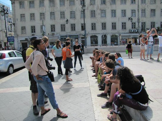Pancho Tours: Somewhere near Rossio