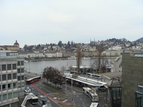 Hotel Monopol Luzern: View from room
