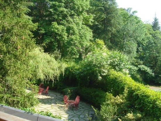 Hotel Etxeberri: jardines
