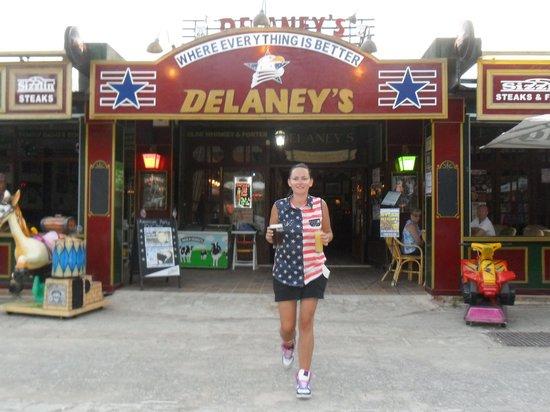 Delaney's Bar And Diner : Delaney's & staff 'Catherine'