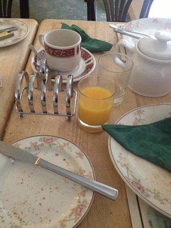 The Forest Inn: breakfast-ALL GONE