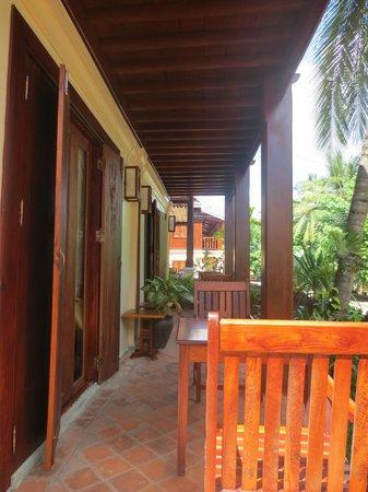 Villa Laodeum Nam Khan View: Balcony