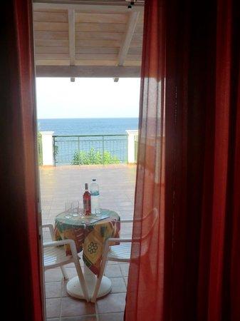 Corfu Sun Apartments: Foto vanuit de kamer