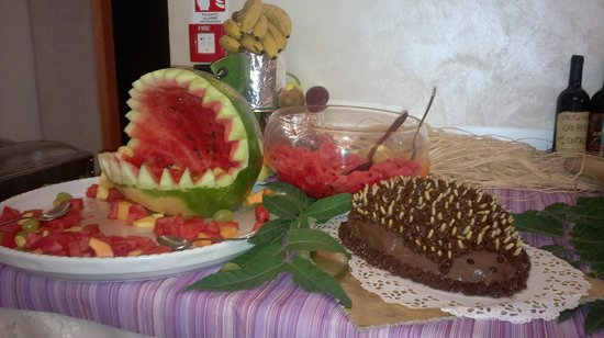 Hotel Villa Paola: Buffet