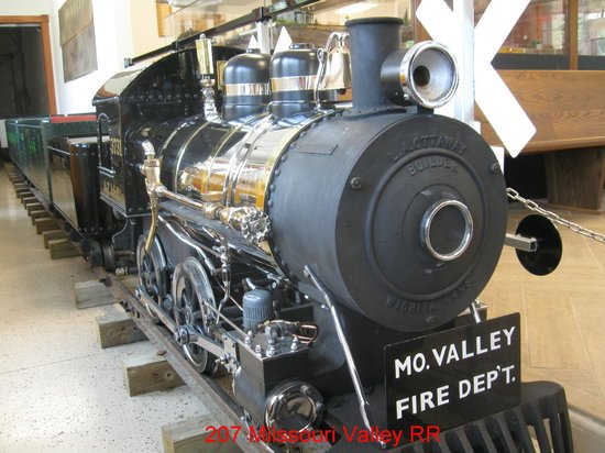 Missouri Valley, IA: The Steam Loco - only for special events