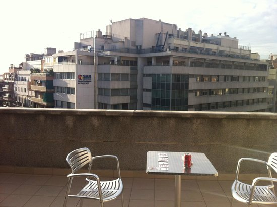 Hotel Medicis: Balkongen/takterrassen