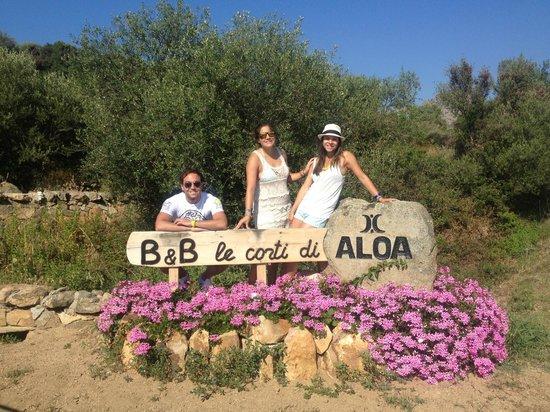 Le Corti di Aloa: the entrance to the b&b grounds
