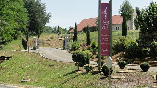 Belambra Clubs - Les Portes de Dordogne: entrée du club Bélambra