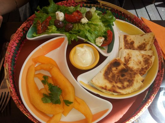 El Rancho : Assiette fiesta