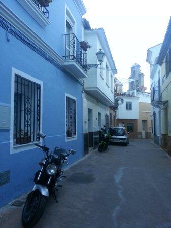 Malaga Lodge: Utanför hotellet