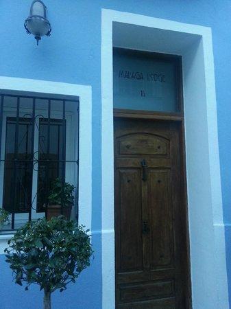 Malaga Lodge: Hotellets ingång