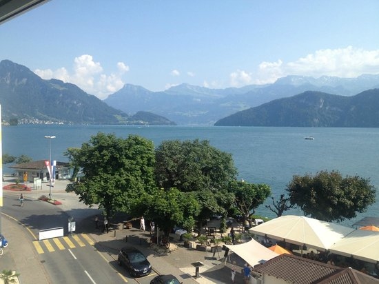 Post Hotel Weggis : view