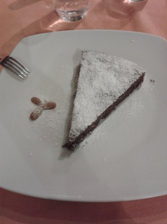 Profumo di ristorante italiano: Torta Caprese