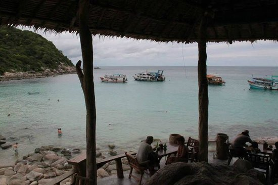 Aow Leuk Bay: scuba divers also come here to dive