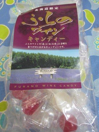 Furano Wine Factory: Grape candies