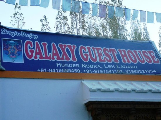 Galaxy Guest House: The Contact Details...