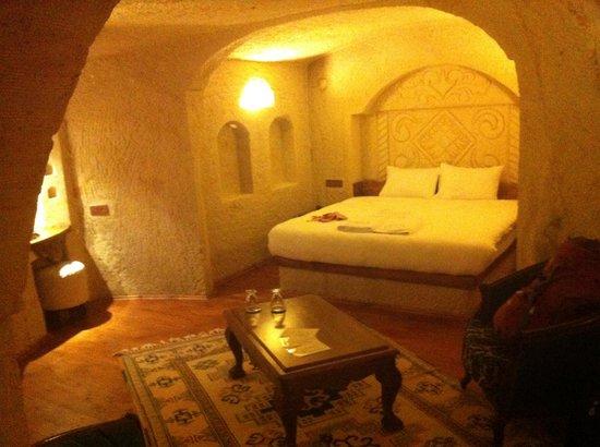 Has Cave Konak Hotel: Bedroom view 2