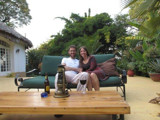 Arusha Safari Lodge: Dining patio area