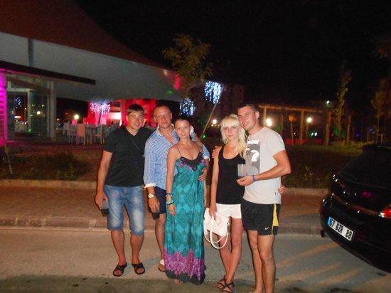Santa Marina Hotel: Вечерняя прогулка