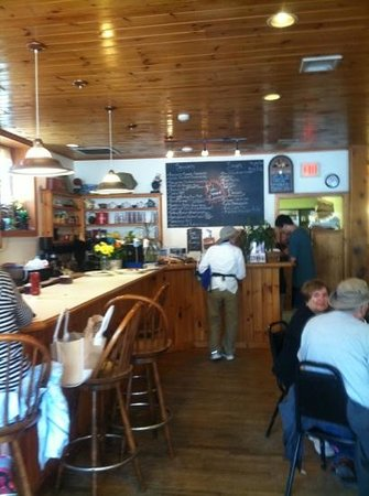 Main Street Cafe: Friendly atmosphere.
