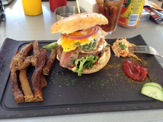 Le Bar à Fruits Burger Bar : hamburger country XL