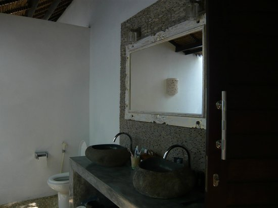 Minabali Bunga'lo : la salle de bain