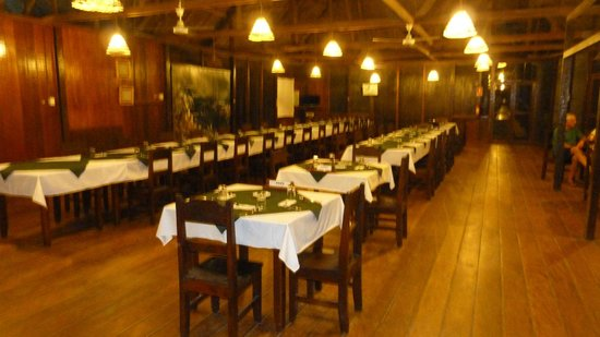 Sandoval Lake Lodge: Comedor