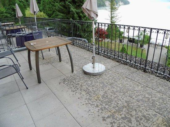 Hotel Seeburg: terras kamer 6