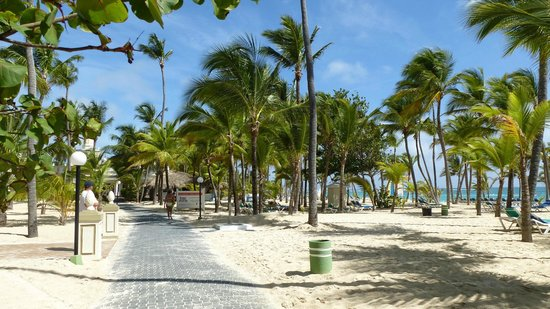Hotel Riu Palace Punta Cana: Beach Path to other hotels.