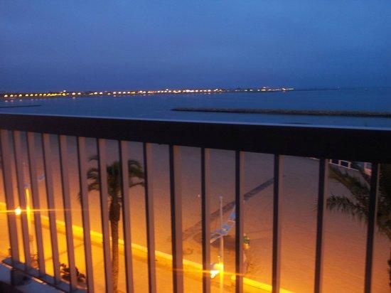 Hotel Restaurant Splendid Camargue : Tramonto dalla terrazza vista mare