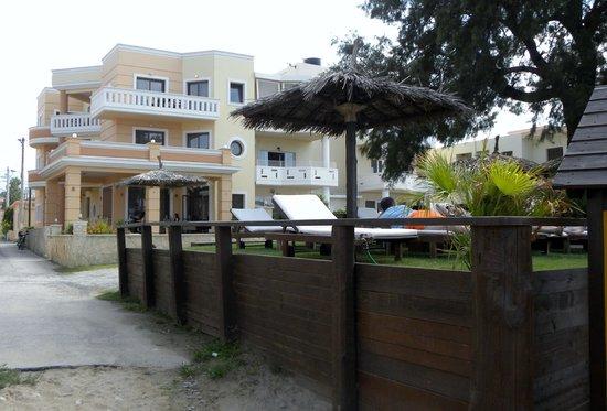 Maria Beach: corpo nuovo dell'albergo