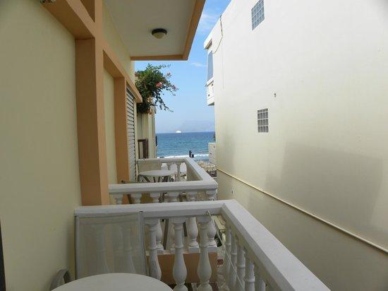 Maria Beach : vista dal balcone della stanza